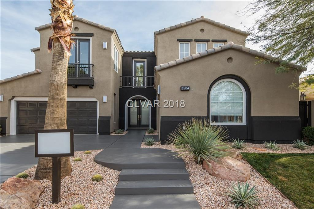 2804 SOFT HORIZON Way, Las Vegas, NV 89135