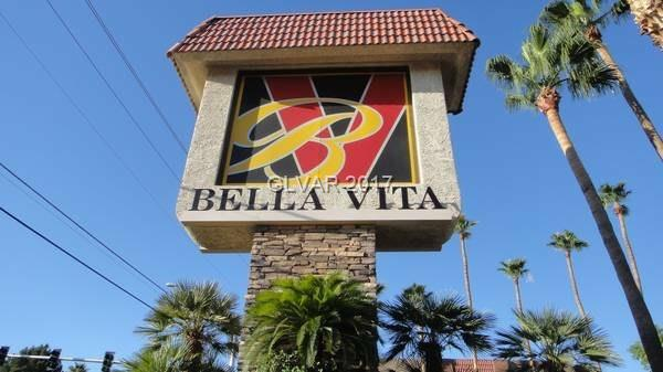 BELLA VITA CONDO GUARD GATED COMMUNITY WITH 24 HOUR SECURTY * 1 BED 1 BATH * 2 MINUTS FROM THE STRIP * 3 CLUBHOUSES * 5 COMMUNITY POOL* 5 TENNIS COURT * EXERCISE ROOM * BASKETBALL COURT * BBQ AREA *ON 1ST FLOOR * LOCATED BY ONE OF THE COMMUNITY POOL AND TENNIS COURT * NICE KITCHEN WITH GRANITE COUNTERTOPS * BRAND NEW TILE FLOORING AT ALL UNIT * ALL APPLIANCES INCLUDED * MANY DINING AND SHOPPING CENTER AROUND * EASY ACCESS TO FREEWAY * MUST SEE !!