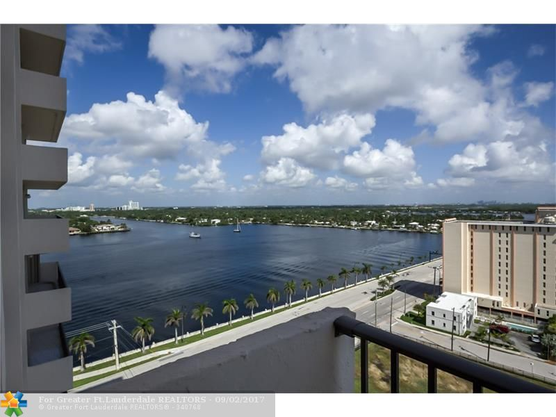 LOCATED ON THE 16TH FLOOR THIS 2 BED/2 BATH CONDO OFFERS BREATHTAKING OCEAN AND INTRACOASTAL VIEWS! ENJOY THE PRIVACY OF A SPLIT FLOOR PLAN WITH 2 OVERSIZED MASTER BEDROOMS. EACH BEDROOM HAS A WALK-IN CLOSET & DUAL SINKS. ENJOY VIEWS FROM YOUR FORMAL DINING AREA, KITCHEN, AND FAMILY ROOM. FRESHLY PAINTED AND CLEANED THIS CONDO IS TURN KEY OR READY FOR YOUR PERSONAL TOUCH! EQUIPT WITH WASHER & DRYER IN UNIT. THE SUMMIT BUILDING OFFERS RESORT STYLE AMENITIES. 24 HOUR SECURITY, 2 POOLS, RESTAURANT, AND MORE!