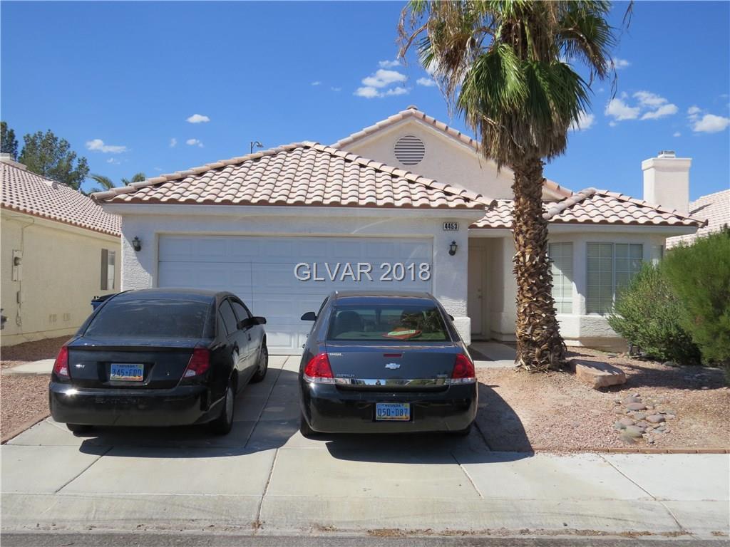 4453 CIELO Lane, Las Vegas, NV 89130