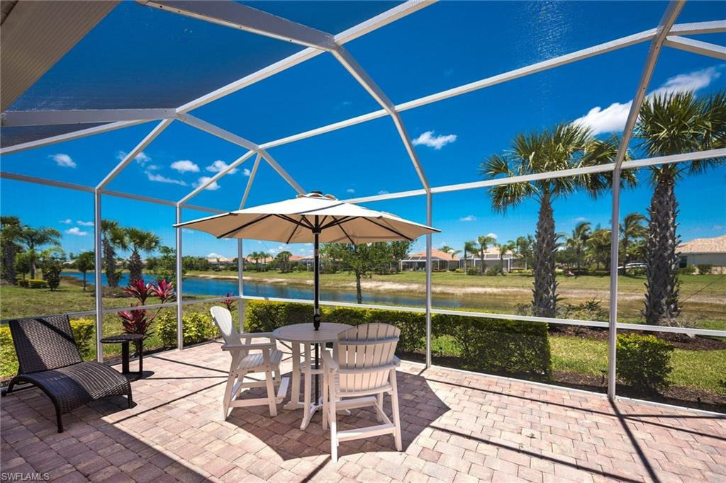 A home with a view and an extended Lanai for entertaining! 