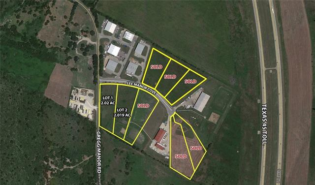2.02 acre industrial park lot, detention pond already in & accepted by City