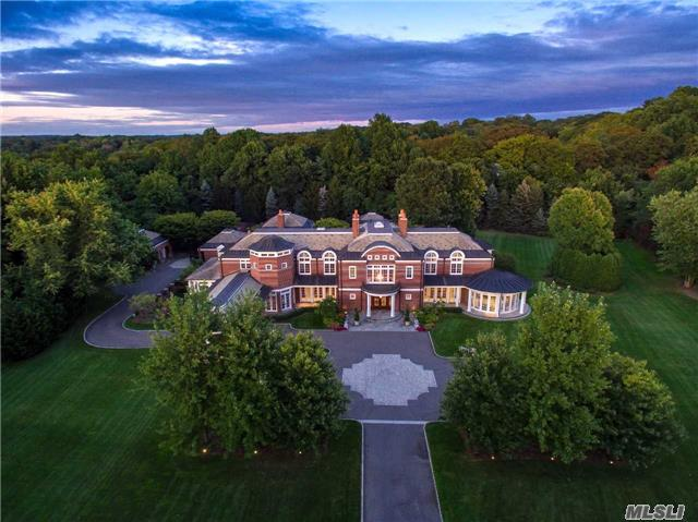 Situated On Over 6 Acres Of Perfectly Manicured Property And Located On One Of The Most Prestigious Streets On The Gold Coast Of Long Island, This 14,000+ Square Foot Custom Built Estate Simply Embodies Perfection.