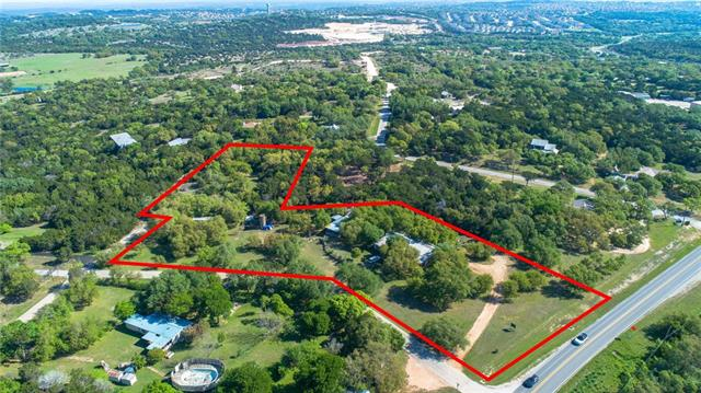 PROPERTY HAS 180' FRONTAGE ON HAMILTON POOL RD. Will sell back 1.087ac lot for $250K with existing septic, perfect for tri-plex or four-plex. No zoning. City of Austin 5-mile ETJ. Existing 1,750-gallon septic tank, 2 deep wells (1,600' & 890') that have never gone dry, & 9,667-gallon holding tank. Home is in fair-poor condition, value is in the land and frontage. Land is generally flat with a 7.5' gradual fall away from HPR. See attachment for marketing package with additional info and maps.