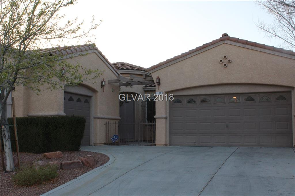 THIS FANTASTIC ONE STORY HOME IS IN A GATED COMMUNITY AT THE VISTAS, FULLY REMODELLED  FEATURES GRANITE COUNTERTOPS* CUSTOM CABINETRY* ALL APPLIANCES INCLUDED* WATER SYSTEM AND R/O* ALARM* CEILING FANS T/O* , ENT CENTER AND BRICK WORK IN FAMILY RM* BONUS EXCERCISE ROOM OR DEN/OFFICE W/ CLOSET* SEPARATE RETREAT OFF OF MASTER BR* GATED FRONT COURTYARD* BACKYARD PATIO COVER, BBQ BAR AND A SPA, 2 SEPARATE GARAGES W/ ENTRY INTO HOME* MUST SEE!