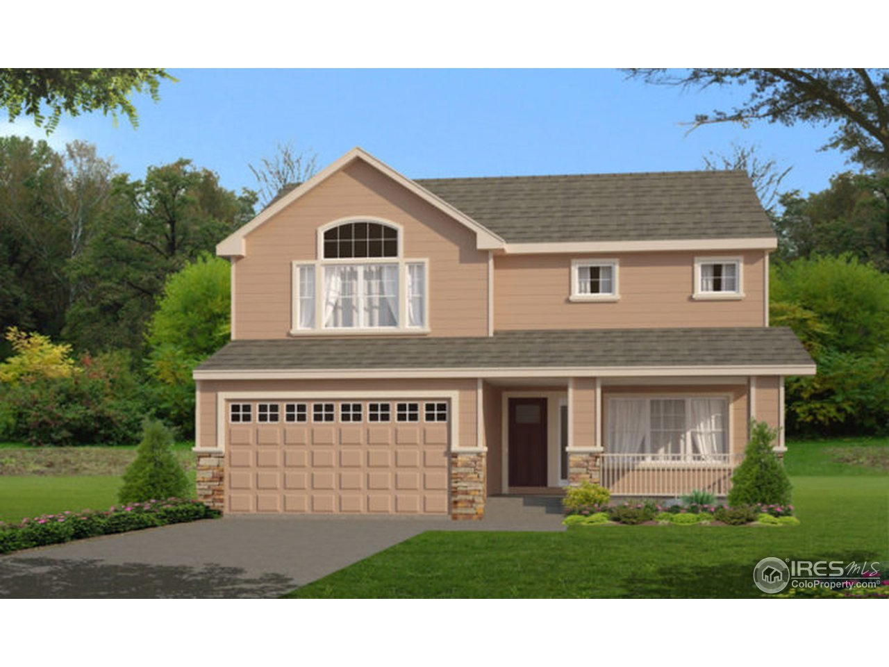 The Imperial plan features a large master suite, 3 BR, 2.5 BA, 4 car garage, rear patio, spacious kitchen, large upper floor loft. This home will have granite countertops, ceramic tile, A/C, garage door openers, garage service door, large front porch, and so much more! Call Agent to view this home today. Estimated completion of 11/2018.