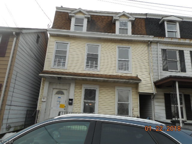 Great investment property live in one  and rent the other. Needs total updating. Close to all amenities and commuting arteries. Sold AS IS all inspections and CO are the responsibility of the buyer First look expires on February 28, 2018 only owner occupant offers will be considered during this time.  There is a driveway off of  Cherry Alley to access the rear of the property, also for parking.  Close to the Delaware River.