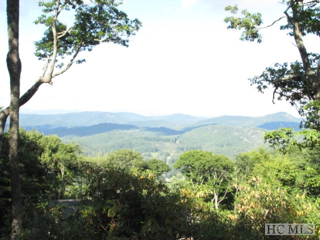 Great mountain views from this gently rolling home-site located in a very quiet location in Old Edwards Club. Adjoins National Forest Land.