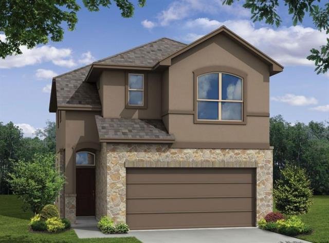 This open floor plan has an enormous living space. Open to below. Many windows ensure adequate light and space. The covered patio opening out to the backyard gives an ideal nook to read and relax. Milestone Community Builders.