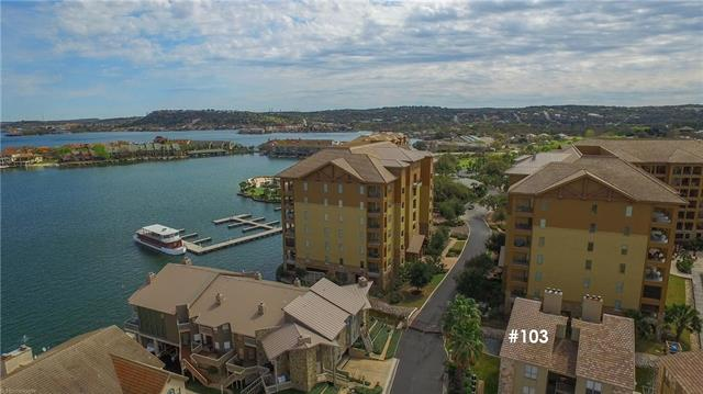 Exclusive waterfront condo to call your own! Stylishly updated and furnished, all set for move-in, rental or investment! Located inside The Cape, a gated community, adjacent to the Horseshoe Bay Yacht Club. Many amenities within walking distance. Complex offers day docks, and a swimming/fishing pier. The Marina is next door to park your watercraft. End unit, loft which will sleep up to 4 people in addition to the main bedroom. Fireplace in the living room. Ready to enjoy your summer!