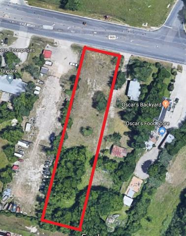 1 acre CS zoned lot. Street access to FM 969, less than half a mile from main highway 183.