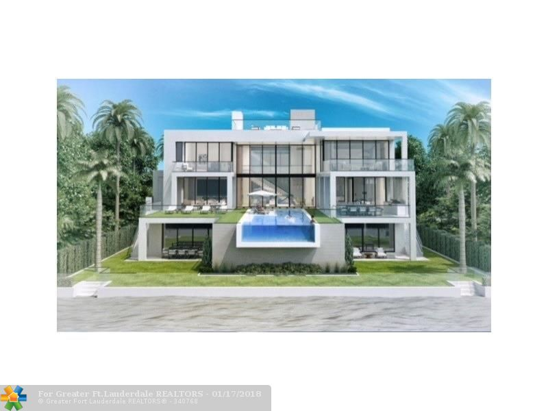 The very latest opportunity for luxurious direct oceanfront living by Bomar Builders! Enjoy one of the rare 100 ft sites on the 'Malibu of Fort Lauderdale' only 48 residences directly on the sand!Modern architecture is planned to take advantage of incredible ocean vistas from most rooms & all 4 levels. Early buyer participation is welcomed as this spectacular oceanfront offering progresses. Expect expansive ocean facing loggias, open living areas, incredible 3rd floor master suite & entire 4th level deck.