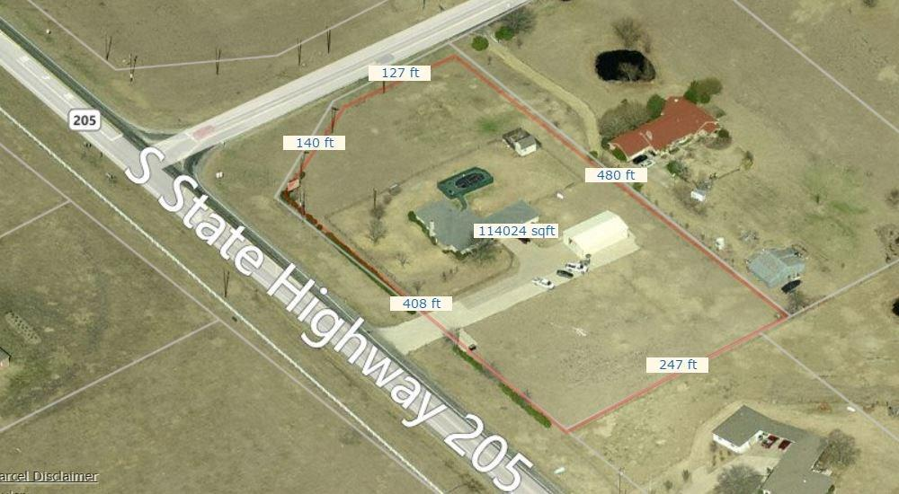 10689 S State Highway 205, Rockwall, TX 75032