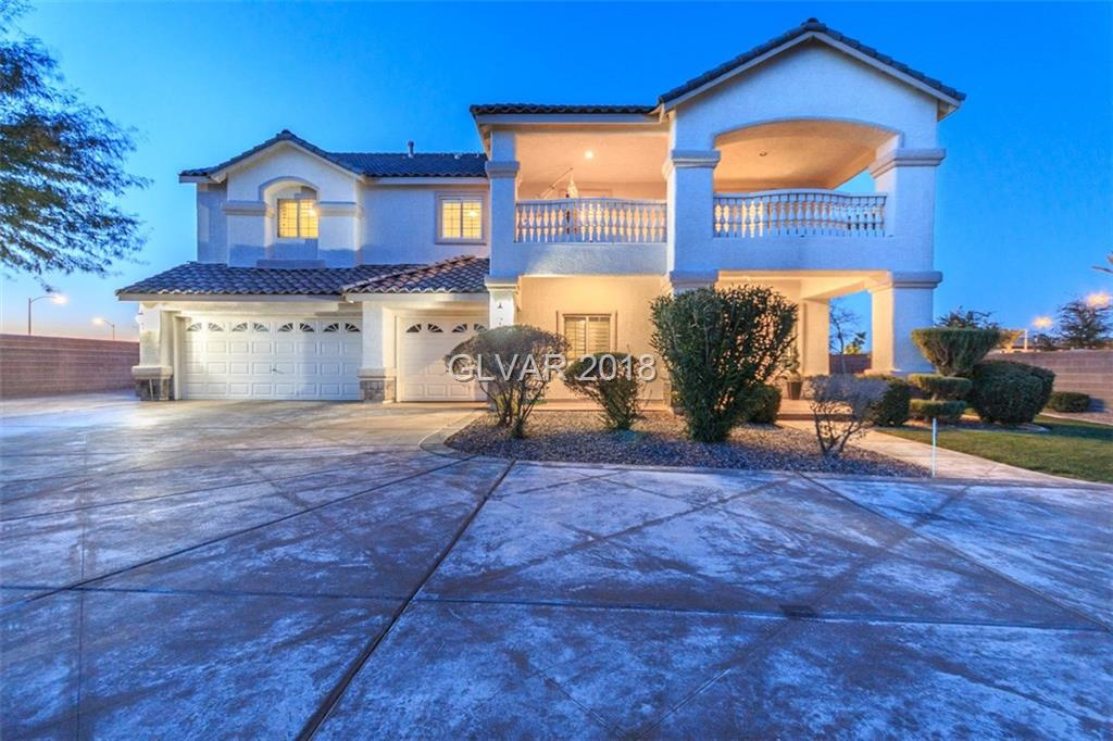 Welcome Home!! This home is the most upgraded home in this beautiful community. You must see in person, all the upgrades added to this home.  5bd 3 highly upgrade bathrooms, 2 balconies, 3 car garage with RV parking, Drive way can accommodate 9+ cars. Master bath comes with a steam shower and marble heated floors. Master bedroom comes with a retreat and a view. Real brick walls in the kitchen and family room. Welcome Home!