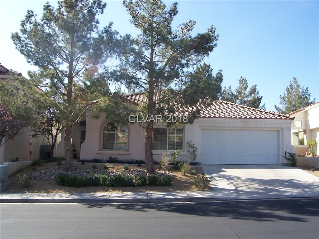 SINGLE STORY  W/ 3 BEDROOMS, 2 BATHS, 2 CAR GARAGE IN GREEN VALLEY RANCH*DESIGNED IN NEUTRAL COLORS*FAMILY RM W/ 2 WAY FIREPLACE OPEN TO DINING AREA & KITCHEN W/ GRANITE COUNTERS, DOUBLE OVENS, GAS COOK TOP, BREAKFAST BAR, FRIDGE*SEPARATE MASTER W/ CEILING FAN, W/ W-I CLOSET,SEPARATE TUB & SHOWER*LAUNDRY ROOM WITH WASHER & DRYER*PATIO & GRASS IN REAR YD*ENJOY THIS UPSCALE LOCATION & THE GREEN VALLEY RANCH AMENITIES & SCHOOLS*