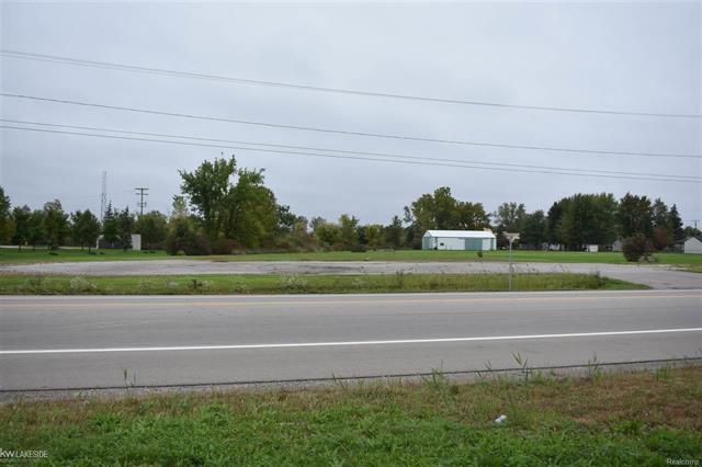 5.5 Acres with 294ft of Gratiot frontage. Located in a prime location. Two parcels with all utilities available. Large pole barn located on Parcel C. Conveniently located near busy intersections and I-94.