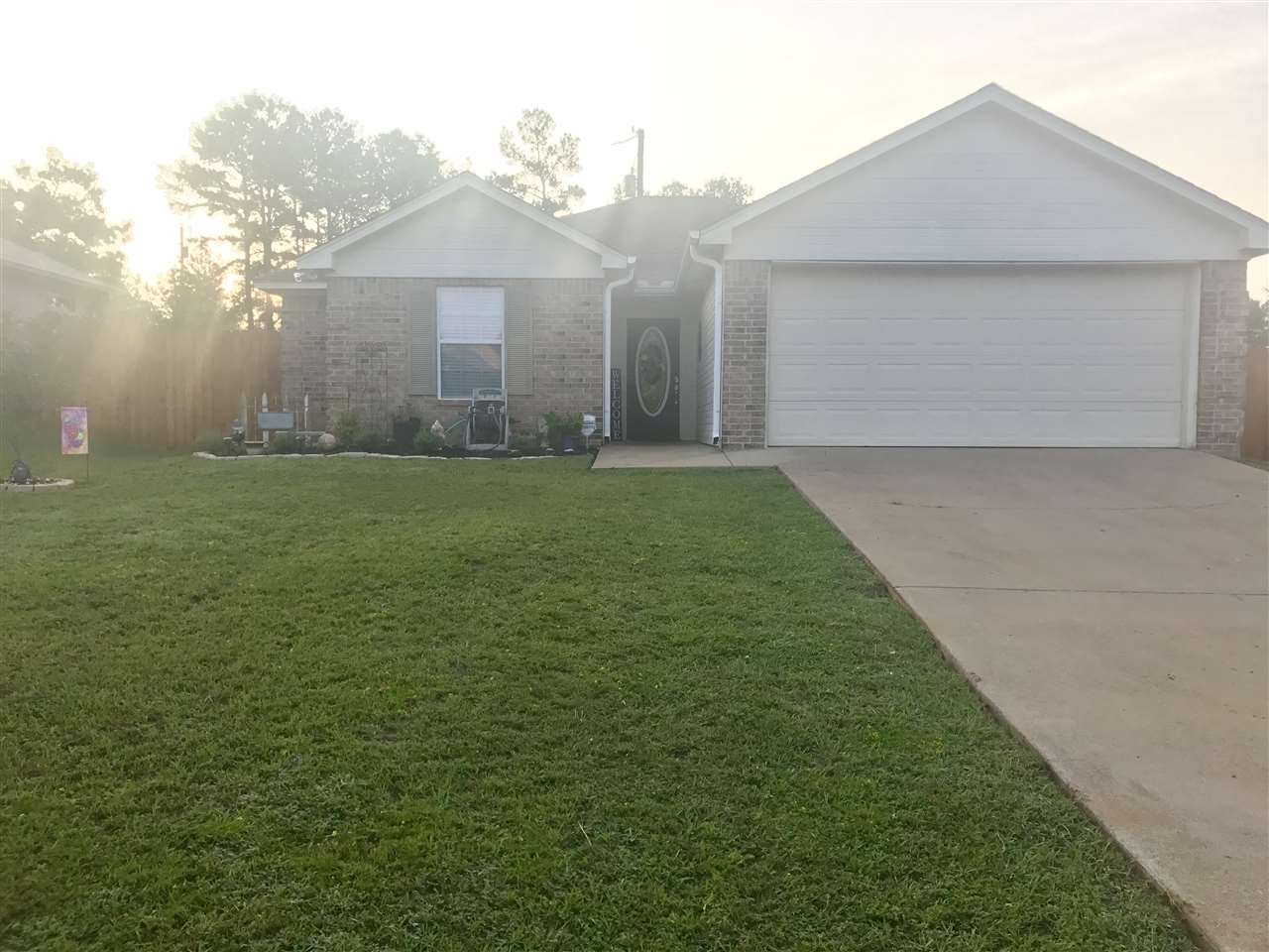 New Price! This beautiful home sits on a corner lot with lots of updates. New carpeting, new kitchen appliances, new paint thru out, new privacy fence, back patio area, and a  storage building. Don't miss out on this one it will not last long. Call to schedule your appointment today 903-238-1052