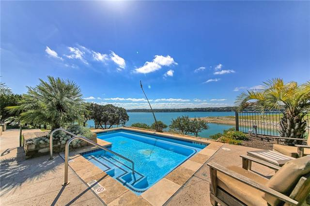 This community is amazing! Ultimate relaxation and enjoyment. Barely lived in, waterfront condo. Stunning views of the main body of Lake Travis. Waterstone features resort-style amenities: infinity pool, outdoor kitchen, day dock, swimming pier, heated spa and fire pit.