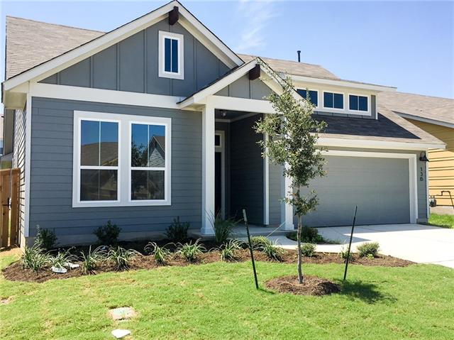 New Construction - Buffington Homes - Connally Plan; 1 story 4bed w/flex room, 2 baths. Covered patio w/full sod &  irrigation.  Large single story; Gas SS Whirlpool appl, upgraded back splash, upgraded tile, white granite counters & center island; Kitchen opens to dining opens to large family room w/many windows. Covered patio off the back of home. Full sod and irrigation. Owner's bath has large walk in shower with seat.  Flex room to use as study/media room/kids playroom.