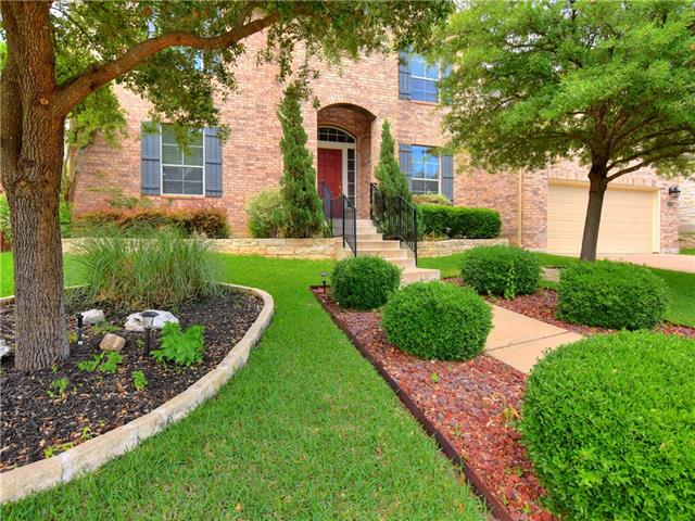 Immaculate home in Forest Oaks, Open floor plan, 5 beds, 4 full baths, formal dining with chair rail/crown molding, kitchen w/granite, walk in pantry, eat in breakfast open to living w/crown molding. Downstairs, great office or bed! Sun room downstairs perfect for office or playroom, Upstairs loft for game/media.  Large master w/sitting area, dual sinks, garden tub, Granite.  LED lighting & Radiant Barrier in attic keeps bills low, Backyard Sports Court! Downstairs flooring to be updated next week!