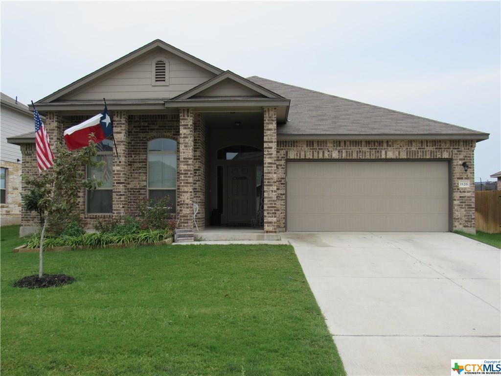 1126 Daffodil Drive, Temple, TX 76502