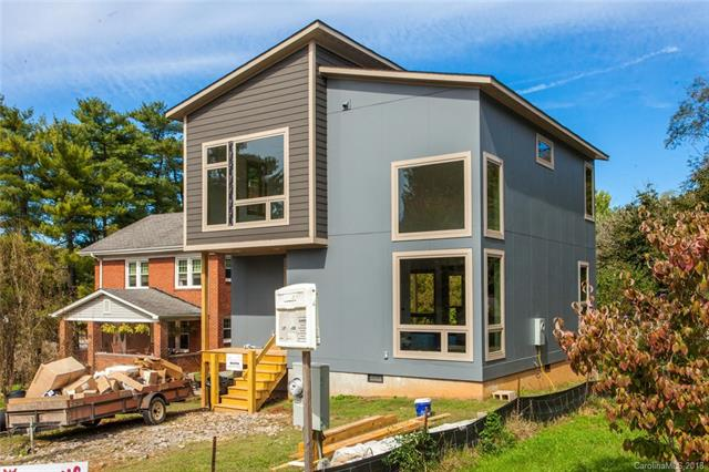 East West Asheville. It's a thing. New construction. Just a moment away from Haywood Road and Hall Fletcher elementary. 9ft ceilings on both floors. Generous windows and lighting. Granite tops. 3/4' wood floors everywhere. Covered back porch for West Asheville entertaining. Built in master cabinetry. Custom kitchen cabinets. Spacious thru out. Leased Tank Blossman. Almost finished.