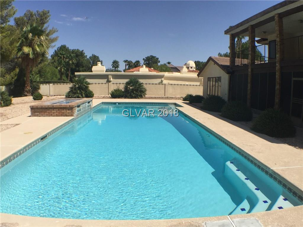 Guard Gated Quail Ridge Estates in Green Valley. 1/2 acre lot with huge pool and fountains. Tree line neighborhood. Covered balcony, enclosed patio, 2 masters both downstairs. 2nd master has it's own kitchen/laundry. Office downstairs. RV/Boat parking.