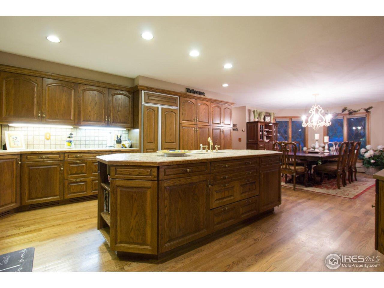 Gorgeous wood floors