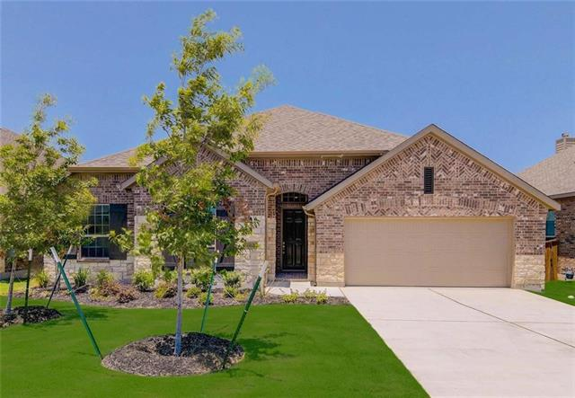 MLS# 6785106 - Built by Highland Homes - May completion!! ~ Beautiful one story home with stone elevation features 8' doors, extended master bedroom, extended outdoor living area, mud room and extended kitchen cabinets for extra space! Kitchen includes built-in stainless steel appliances, 30 five burner gas cooktop with stainless steel vent hood and granite countertops. Large patio, 3 car garage, and gas drop at patio.