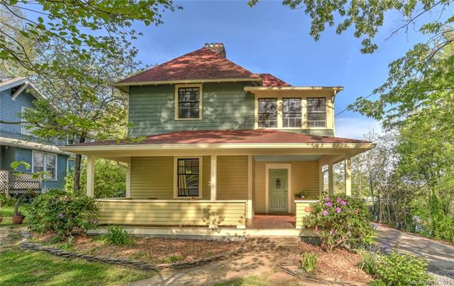 The location can't get much better. 1500 feet to downtown but in charming neighborhood away from the bustle and noise. Historic charm abounds in this beautiful home located in the desirable Charlotte St/Albemarle Park area. A massive multilevel rear deck and large front porch are surrounded by birds, trees and great neighbors. Walk out your back door directly to Charlotte Street via the rear alleyway. Ultimate Ice Cream and Waterbird 75 yards away. Gan Shan, Taco Temple, Bone and Broth, The Chop Shop, City Bakery, Starbucks 1 to 2 blocks away. Peaceful rear yard could be used to build a garage/apartment, guest cottage, workshop, studio and create your urban retreat. (*RS8 zoning approval for 800SF unit, buyer to confirm). 2 rooms currently have doors hanging on them with no direct heat source but the rooms are wired for installation for a direct heat source which can be installed within 5 days notice. Seller is licensed NC Real Estate Broker.