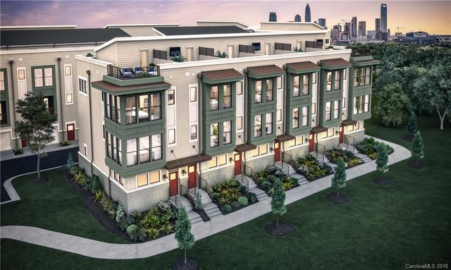 New Construction townhomes with amazing views of uptown from optional Roof Top Terrace.  Located just off Trade St near Uptown in Seversville.  Contemporary architectural style and modern, open interior design.  All homes have 2 car garages, quartz countertops, hardwood floors and Whirlpool SST Appliances.  Community is walkable to breweries, restaurants, greenway trail to uptown/Frazier Park and literally 3 min to uptown.