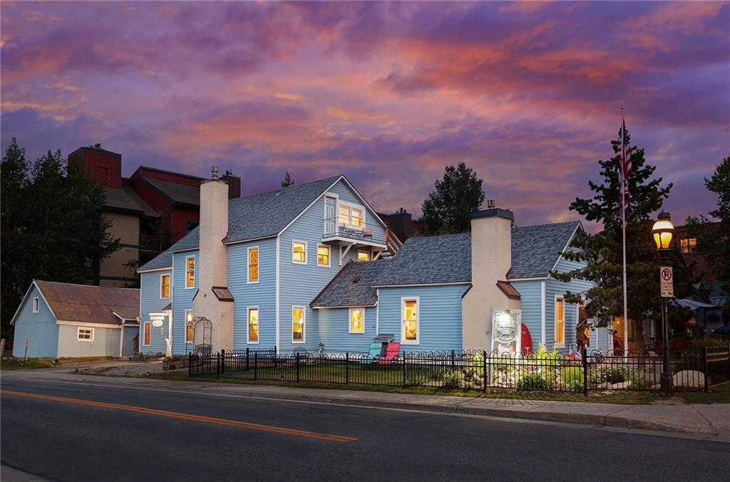 A Breckenridge icon!  The Fireside Inn.  Please check the Tour link for more and better photos.