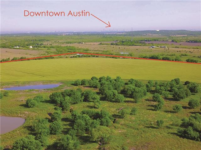 Located in Travis County and City of Austin ETJ and is is serviced by Del Valle ISD. The property has 1,345 feet along the west line of US 183 south, 100 feet along the east line of FM 1625. Dry Creek meanders through the property with three small ponds and there is a gentle slope from FM 1625 to Dry Creek with a steep ridge and plateau on the eastern edge of the creek to US 183 allowing for views of downtown Austin. Sellers are licensed real estate brokers.