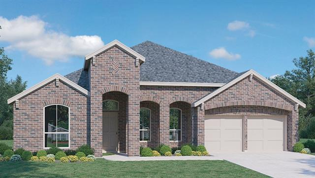 """BRAND NEW HOME READY FOR MOVE IN!  THIS GORGEOUS HOME HAS EVERYTHING YOU NEED!  WOOD FLOORS WITH 42""""  WHITE CABINETS IN THE KITCHEN, A FORMAL DINING ROOM, A STUDY, BLINDS AND A STAINLESS STEEL FRIDGE.  THE OVERSIZED COVERED PATIO IS A GREAT PLACE TO ENJOY THE NICE BACKYARD."""