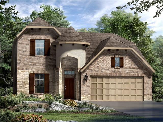 This stunning two-story home features an open floor plan with a two-story family room, large gameroom upstairs and spacious gourmet kitchen.  The large covered patio is ready for an outdoor kitchen that includes gorgeous views of the private hill-country.