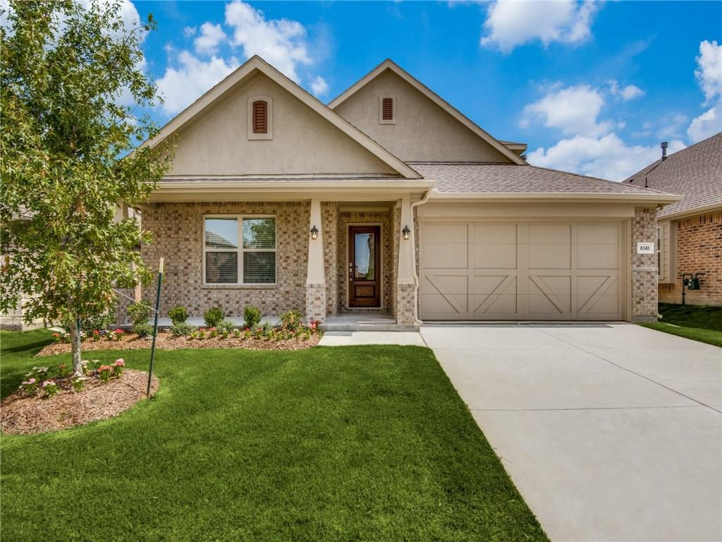 THIS HOME WILL BE COMPLETE BY END OF JULY 2018. NEW LENNAR 4 bed with 2 bath 2 half-bath, 2 story with formal dining, covered patio & fireplace. Brick & stone exterior. Includes stainless GE appl pkg with fridge, 2in. faux wood blinds, granite counter tops, upgraded woodlook tile throughout. Energy features include radiant barrier & programmable TStat. WiFi Certified Smart Home powered by Amazon Alexa! Builder discount included in price. This home complete end of July 2018!!