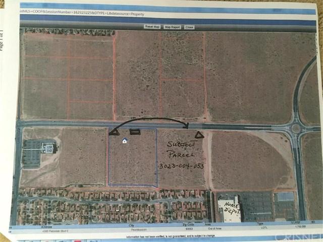 4500 E PALMDALE Boulevard, Palmdale, CA 93550