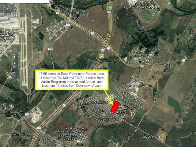 Prime! Prime! Prime!  16.55 acre lot zoned GR-MU and LR-MU.  All utilities are available on street.  Perfect location for multi-family, office, and limited retail use.
