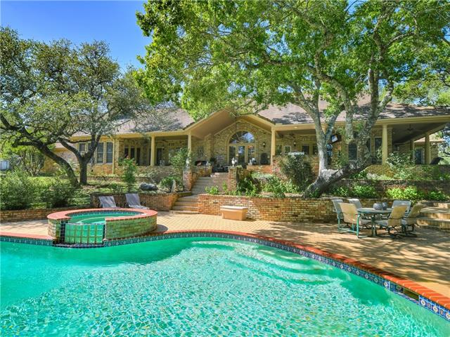 Rare acreage on Barton Creek.  39.269 acres on both sides of Barton Creek offers ultimate privacy and location.  Thirty minutes to downtown Austin or the airport.  Custom-built 5 bedroom home with beautiful covered outdoor living areas overlooks the pool and the creek. 1500+/- square foot guest house with its own garage.  Sport court, pool and spa.  No HOA fees plus ag exemption in place. Barn and pasture is home to two cows now but could accommodate horses. Perimeter fenced. Opportunity to have it all.