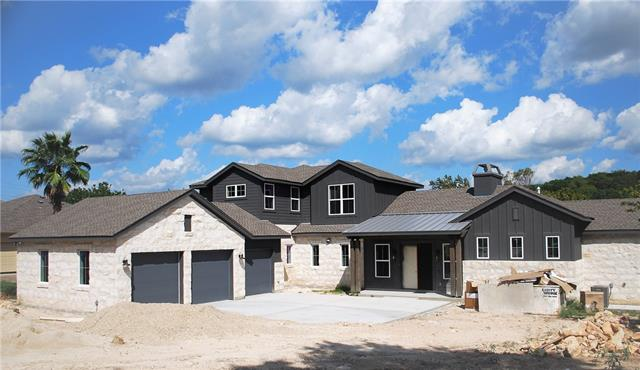 New Modern Farmhouse in Lakeway! Thoughtfully designed & quality built. Joseph Fowler Homes LTD, 2017 Builder Max Award Winner & Vanguard Studios Inc. A fabulous 4 bedroom & 3.5 bathrooms, great room living, Office/Game-media, 3 car garage. On a .576 acre, room for a pool. The lot backs to a creek. Yaupon Golf Course & Greenbelt trails down the street. Close to HWY 620, Shopping, Restaurants, Lake Travis, Boating, Golf, Private Airport & Lake Travis Schools. 30 days until complete, more photos to follow