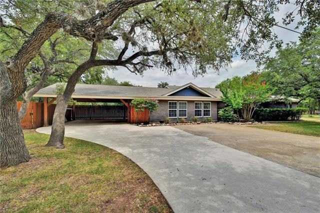 Unique property in the heart of Cedar Park! Over an acre and a half with a main house (2940 sqft, 5bd/3bth) and guest house (898 sqft, 1bd/1bth) on separate meters. NO HOA! Main house is a smart home with smart switches, thermostats, double master suites, large living room open to kitchen, skylights, walk-in showers, and much more! Both houses fully updated with grantite tops, new cabinetry, and wood/tile throughout.