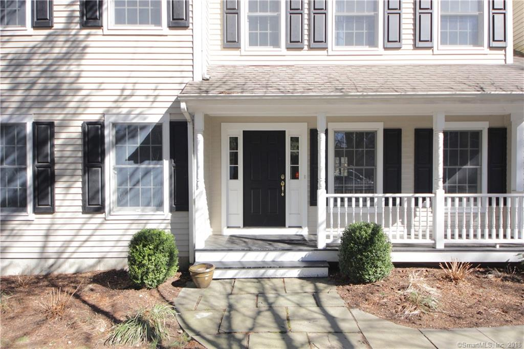 All the right spaces in all the right places! Fantastic and friendly neighborhood and a short walk to Rowayton's waterfront loop, the village, beach, parks and train from this mint condition, Colonial w/ two-story entryway. Great circular flow on main level, high ceilings throughout, gleaming dark hardwood floors, a cook's kitchen that opens to the family room, and French doors that open to the backyard and deck.  Light, bright and move in condition with a spacious master suite w/ spa bath and large walk in closet, 3 add'l bedrooms, laundry room and office (or 5th bedroom) complete the 2nd floor.  Lower level with big windows is playroom, entertainment room or gym. New hot water heater, new central vac, tons of storage, walk up attic. This is easily the best value in Rowayton!