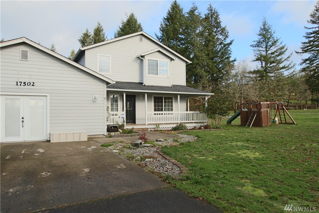 Great location in the Loma Vista neighborhood. Nice, private setting on a level acre lot. Plenty of room for RV parking, garden space, and lots of room to play. 2-story home with nice wrap around covered deck. 3 beds with master on main level, 2.5 baths, over 1900 sq ft. Price reflects the work that is needed in this home, but there's great potential here! Great floor plan, lots of closets, pantry, and storage! 2 outbuildings in back and the 2-car garage can easily be converted back.