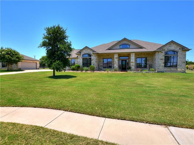 Beautiful custom home with open floor plan. Large bonus room upstairs can be a 2nd master or a game/media room. Detached 2 car garage/shop.  New AC unit in 2016, dishwasher in 2017, and microwave 2018. Lots of wildlife in the large shaded back yard. Kitchen has granite counter tops and floors consist of tile, wood laminate, and carpet. Covered front and back porches.
