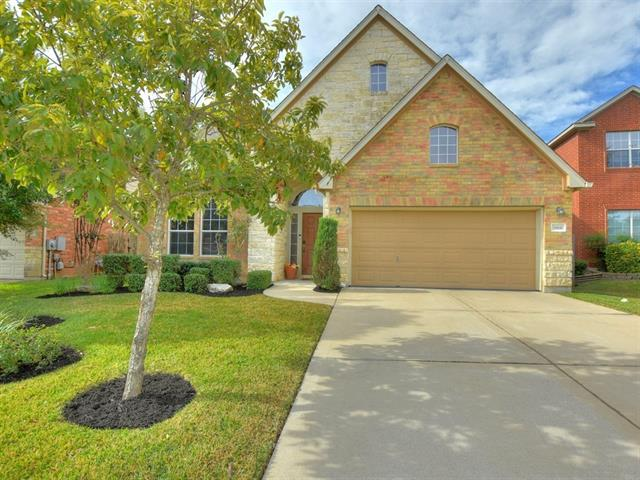 Come check out this spectacular home with a sunroom and inviting back patio with outdoor kitchen and fire pit.  This home backs up to a greenbelt so you can enjoy the natural wildlife roaming out back from your private yard.  This home has a bonus room upstairs made into a game room and has a separate workout area and half bath.  Also plumbed for a wet bar upstairs. Equipped with The Ultimate whole-house air purifier for those with allergies.