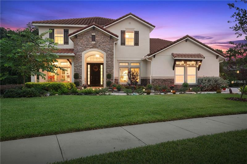 Welcome to your beautiful home in the upscale neighborhood of Ladera! This two storyContemporary residence features a .75 acre homesite and has sweeping views of an immaculate landscaped and conservation site. 5 bedrooms, 3 full baths,2 Half baths, and 3  Car oversized Garage.Built in 2013, new 2017 Swimming Pool + Spa and 4,398 sq. ft. make this home ideal. Inside, you will love the volume ceilings, Plantation shutters,windows that bask the home in sunlight and the spectacular views . The  floor plan makes the home perfect for entertaining and includes Urban Loft Wood floors ,wide plank reclaimed esthetic: The Restoration Hardware Chandeliers accentuate the high ceiling and detailed crown molding.The gourmet kitchen opens to the family room and features up to the ceiling wood cabinetry with beautiful granite counter tops, and a stainless steel Vent Hood,Farmers sink, Wine chiller ,Making this every cooks dream . Your master suite on the First level Overlooks the magnificent  nature view , master bathroom features his and her vanities and walk in closets. Outside, there is a screened in patio with plenty of covered space for dining , The Sparkling Newly 2017 built pool and spa , offer complete privacy,  top of the line equipment, finishes and modern design . Come on to Ladera , make this your dream home.