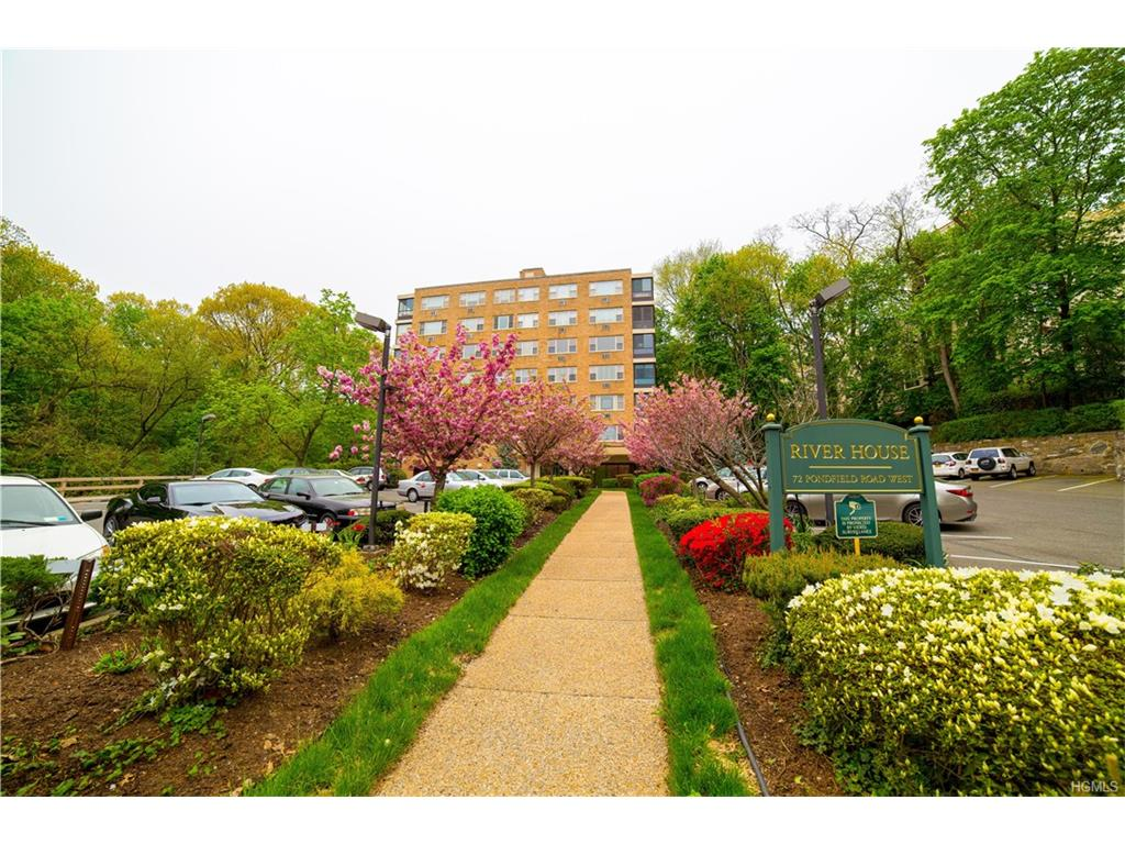 SERIOUS PRICE REDUCTION from MOTIVATED SELLER. Great opportunity to live in Bronxville's only Doorman building, and have your own Washer and Drier and on premises parking too. Easy access to downtown Bronxville village, commuter rail, shops, restaurants and highly rated school system from this 2 Bedroom/2 Bath unit. Features include wood parquet floors throughout, windowed eat-in-kitchen, year round enclosed terrace and bonus patio both for enjoying evening sunsets. This apartment awaits your final touches. A wonderful place to call home.