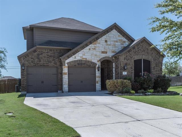 Megatel Home. Many gorgeous features and updates. Private 3 bedroom, 3 bath home with gameroom/bonus room upstairs with full bath that could be used as 2nd living or made into a bedroom. Large open kitchen and living area concept. Beautiful granite countertops and kitchen island. Wood floors, Rainsoft Water Softener, solar screens, large lot and much more.  Very spacious backyard with private covered patio.  Backyard also features a private wood burning fireplace. Refrigerator to convey with property.