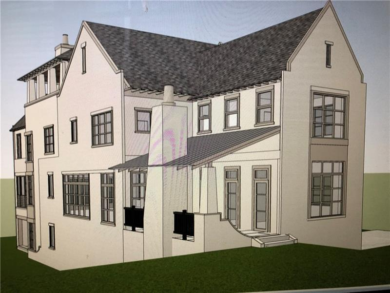 """New Construction and luxury in Morningside. Conceived by Jones-Pierce Architects and masterfully executed by Hudson Development. This home is extraordinary in design, amenities and quality. Great floor plan, including multiple porches, roof top """"living room"""", 3 fireplaces, family room/den on each floor, spa like master bath and resort style covered porch on roof level. Plus located a block to the shops and restaurants on North Highland and Amsterdam. This project is featuring truly extraordinary homes!"""