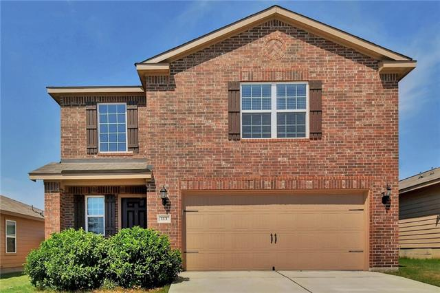 This beautiful three bedroom, two and a half bath home feels BRAND NEW! Featuring an open layout, tile/carpet throughout and includes brand new washer/dryer combo, refrigerator and water softener. Walking distance to the elementary school, Sonterra Pool and Clubhouse! You will absolutely love it here!~Text Owner and give 30 minutes notice